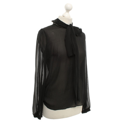 Elisabetta Franchi blouse zwart