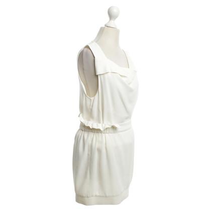 Patrizia Pepe Cremefarbenes Kleid