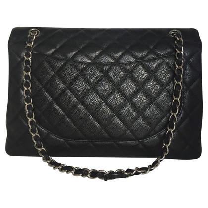 "Chanel ""Jumbo Flap Bag"" Caviar Leather"