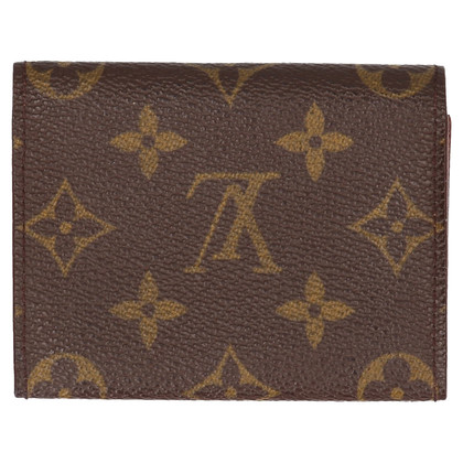 Louis Vuitton Business card holder from Monogram Canvas