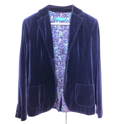 Escada Purple velvet blazer