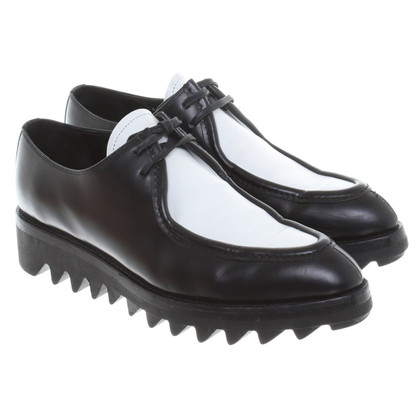 Prada Lace-up shoes with plateau
