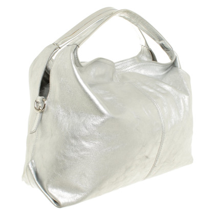 Furla Borsa in look metallico