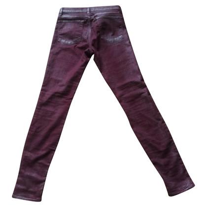 J Brand Skinny jeans in de Bourgogne