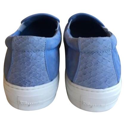 Salvatore Ferragamo Blaue Loafer