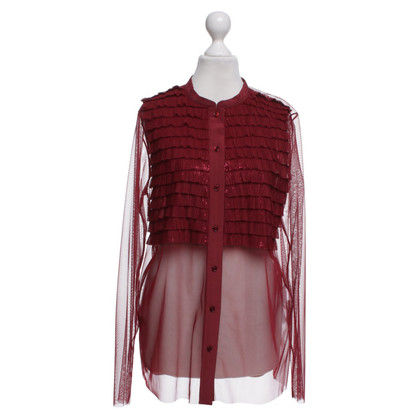 Other Designer Atos Lombardini - blouse in red