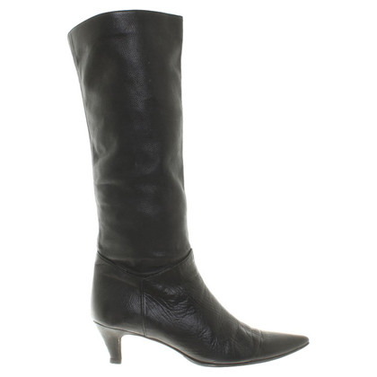 L'autre Chose Ankle boots in black