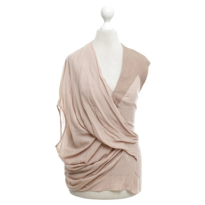 Helmut Lang Top in nude