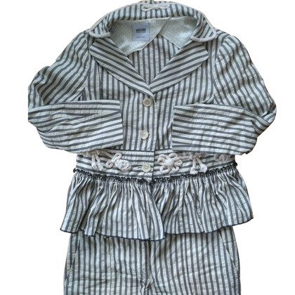 Moschino Cheap and Chic Suit with stripe pattern