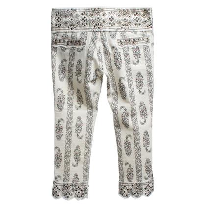 Isabel Marant Capri broek met bloemenprint