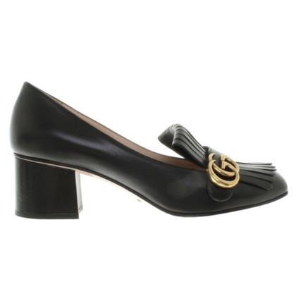 Gucci Gucci mid heel pump