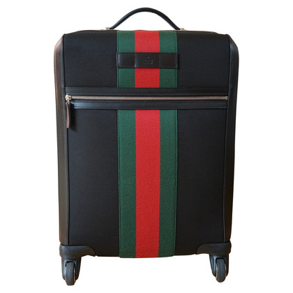 Gucci Travel suitcase made of techno-canvas