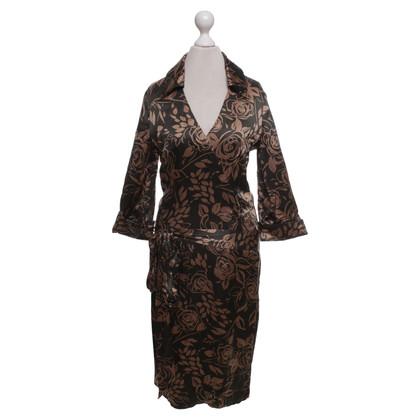 Karen Millen Silk dress with pattern print