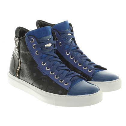 Michalsky High-Top-Sneakers mit Monogram-Muster