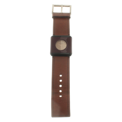 Prada Wristwatch in brown