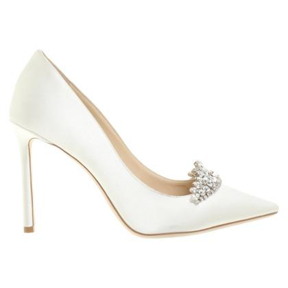 Jimmy Choo Stilettos in Weiß