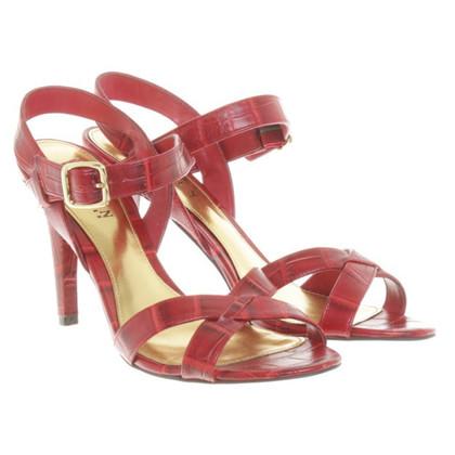 Ralph Lauren Sandaletten in Rot