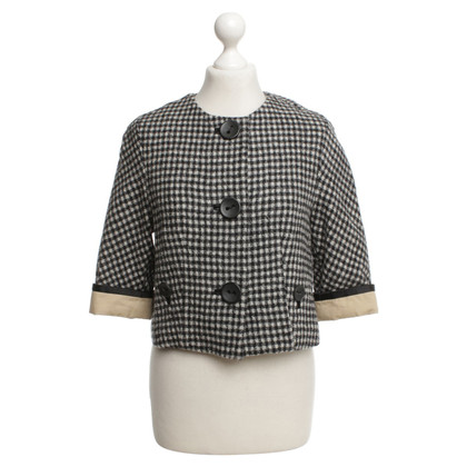 3.1 Phillip Lim Blazer with check pattern in black / white
