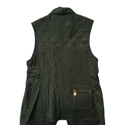 Rena Lange Quilted vest in green