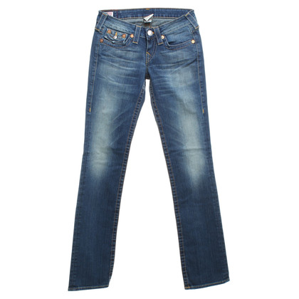 True Religion Jeans in used look