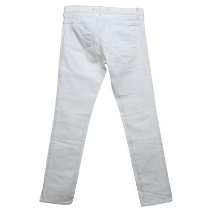 J Brand Skinny Jeans in White