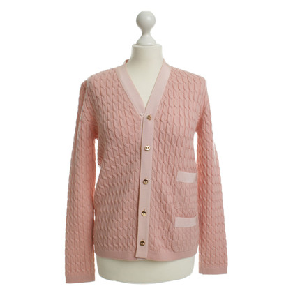Salvatore Ferragamo Wollen vest in roze