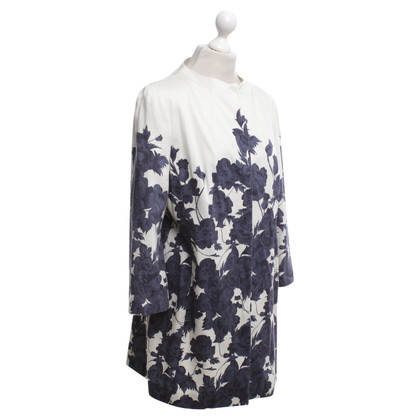 St. Emile Coat with a floral pattern