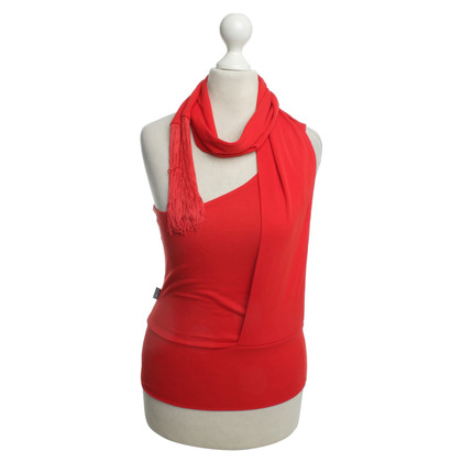 Moschino Red top with scarf