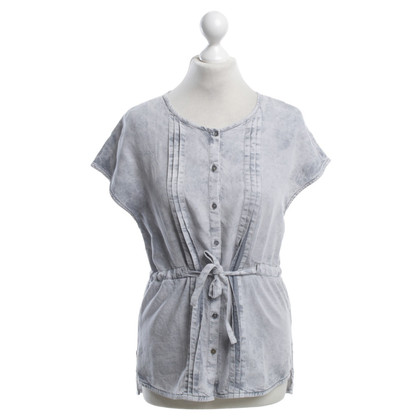 7 For All Mankind Bluse in Grau