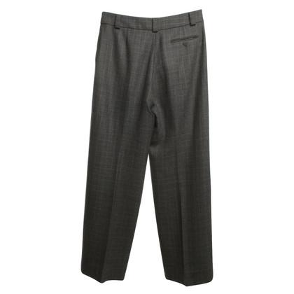 Giorgio Armani pantaloni Marlene in grigio con rombi