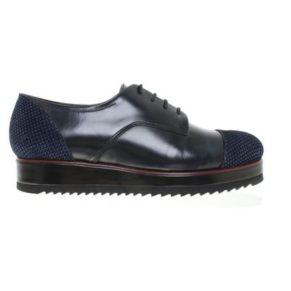 René Lezard Lace-up shoes in dark blue