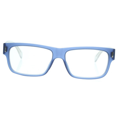 Marc by Marc Jacobs Glasses in blue and transparent white