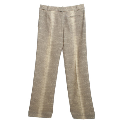 Chloé Pants in beige with Reptile Print