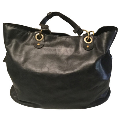 La Martina Black leather handbag