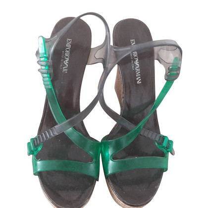 Armani Sandal with wedge