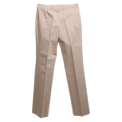 Céline pantaloni con piega in beige