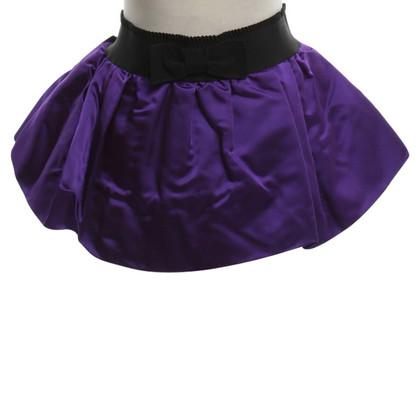 D&G Mini skirt in violet