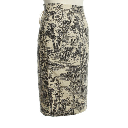 Hoss Intropia Patterned skirt
