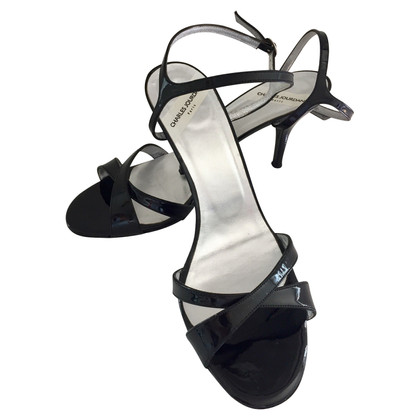 Jourdan Patent leather sandals