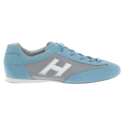 Hogan Lace-up shoes in turquoise
