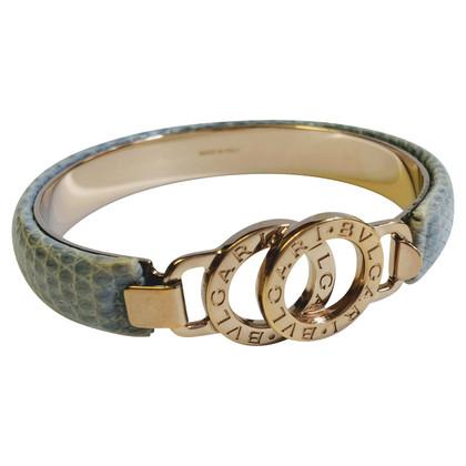 Bulgari Armband aus Reptilleder