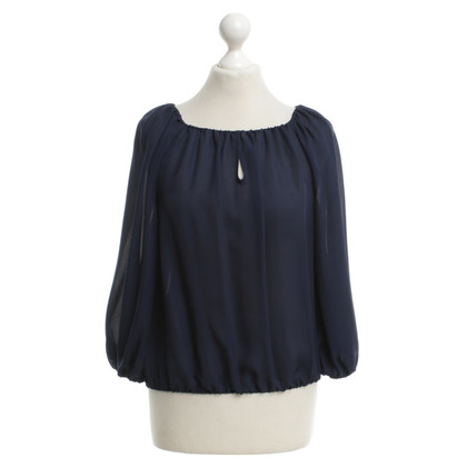 Alice + Olivia Blouse in donkerblauw