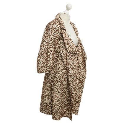 Marni Coat with patterns
