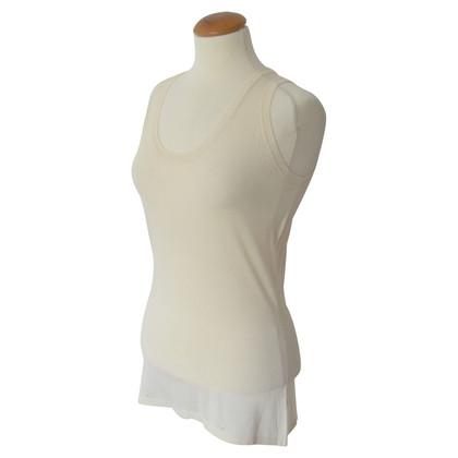 Helmut Lang Lungo Top in crema