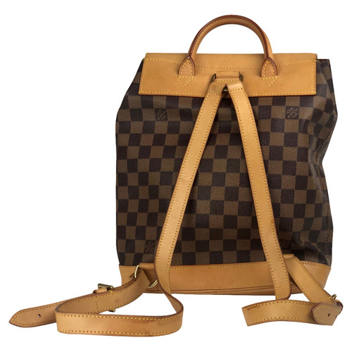 c6b20d65813c Louis Vuitton Damier Ebene Louis Vuitton Soho backpack .