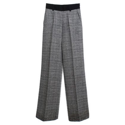 Ferre trousers in black and white