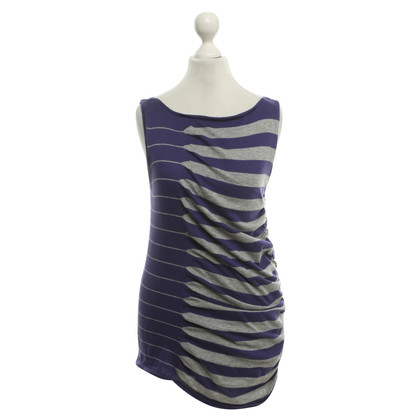 Escada top with stripe pattern