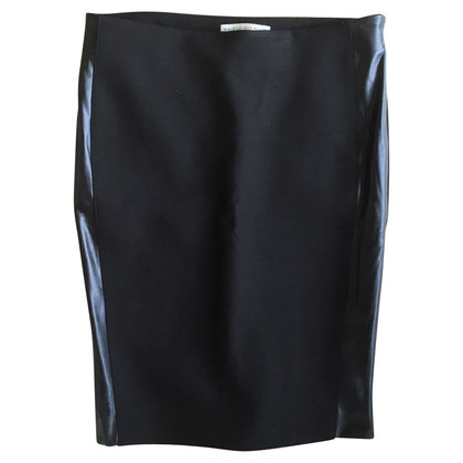 Balenciaga skirt with leather strips
