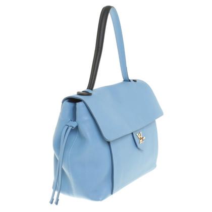 Louis Vuitton Handtasche in Blau/Schwarz
