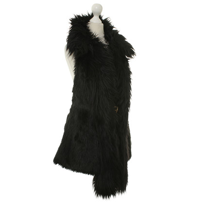 Versace for H&M Faux fur vest